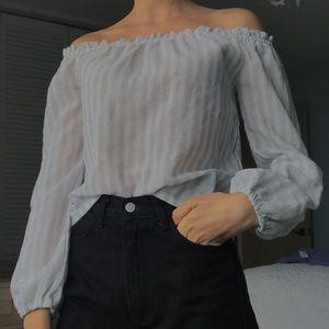Brandy Melville Flow Off the Shoulder Top